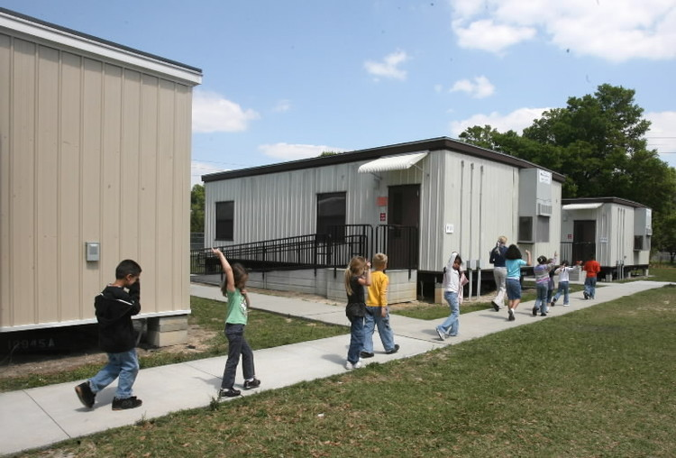 "Modular Classroom S : Say goodbye to ""empty seats watching broward"